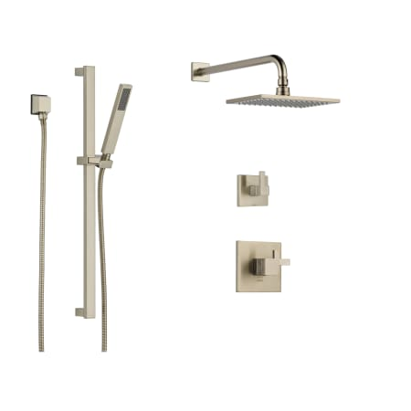 Brizo Bs845 Bn Brilliance Brushed Nickel Thermostatic Shower System
