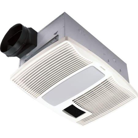 Broan Qtx110hl White 110 Cfm 0 9 Sone, Bathroom Vent Heater Light Night