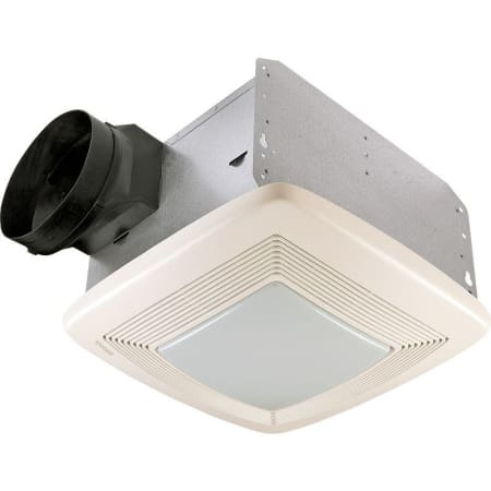 Broan Qtxe110flt White 110 Cfm 0 7 Sone Ceiling Mounted Energy Star Rated And Hvi Certified Bath