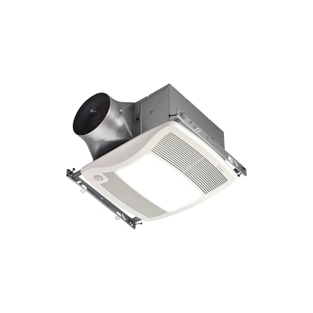 Broan Zb110hl White Multi Speed Energy Star Humidity Sensing 110 Cfm Exhaust Fan With Light From
