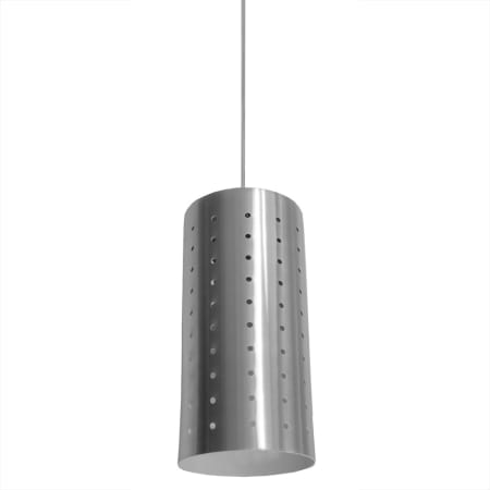 Bromi design b5301 silver camden 1 light 9 height mini pendant with stainless steel shade - Stainless steel kitchen pendant light ...