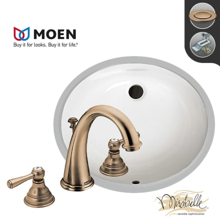 A Large Image Of The Build Smart Kits Miru1714a Mt6125 Antique Bronze Faucet