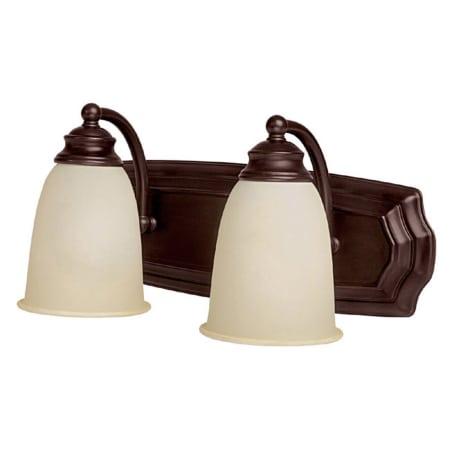 Capital Lighting 1012mz 130 Mediterranean Bronze 2 Light Bathroom Vanity Fixture