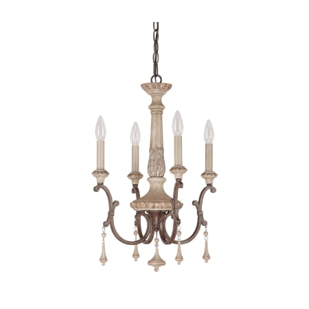 Capital lighting 4094fo french oak chateau 4 light 1 tier mini capital lighting 4094 aloadofball Image collections