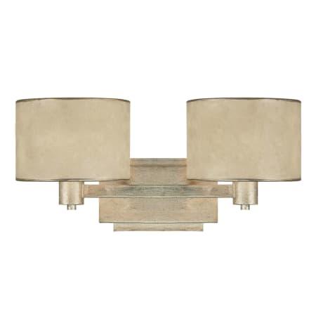 Capital Lighting 1007wg 410 Winter Gold Luna 2 Light Bathroom Vanity Fixture