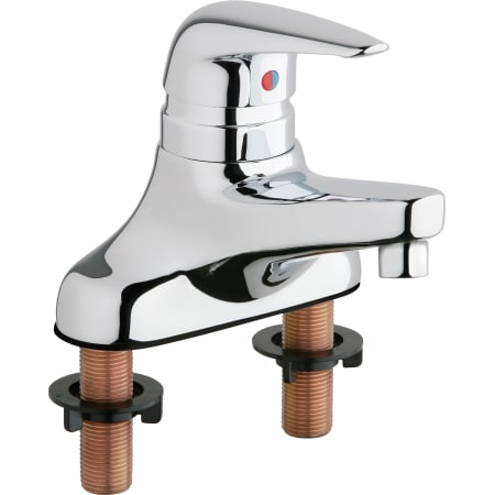Chicago Faucets 420 E2805abcp Chrome Centerset Bathroom