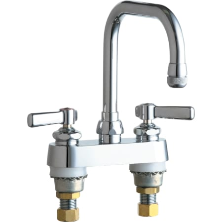 Bottom mount service sink faucet