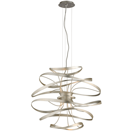 gold stainless inch and lighting polished product light corbett modernist with pendant silver