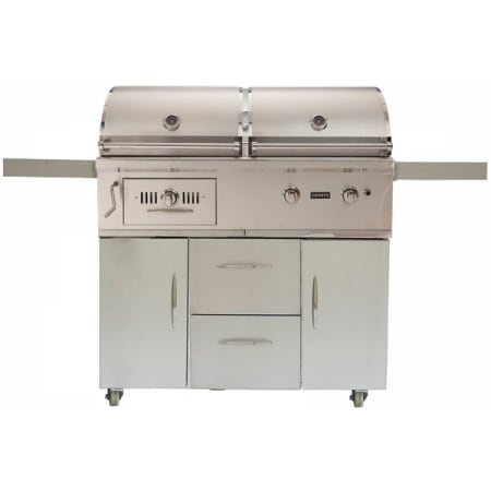 Coyote bbq grill outdoor ch50lp fs for Coyote hybrid grill