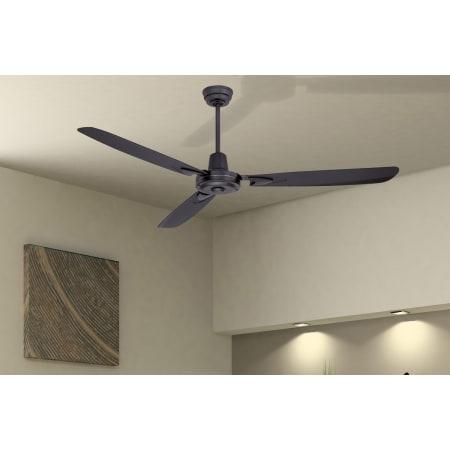 Flat Black Craftmade Coupler-FB Ceiling Fan Down Rod Coupler