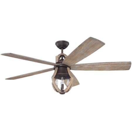Craftmade win56abzwp5 weathered pine winton 56 5 blade ceiling fan craftmade win56abz5 mozeypictures Images