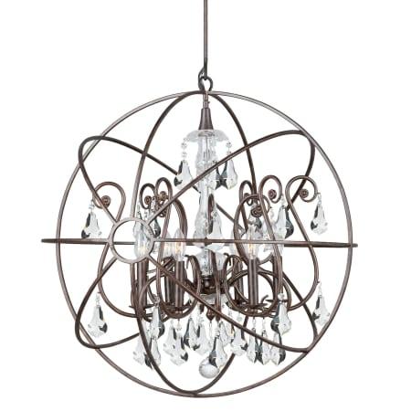 Crystorama Lighting Group 9028 Eb Cl Mwp English Bronze Solaris 6