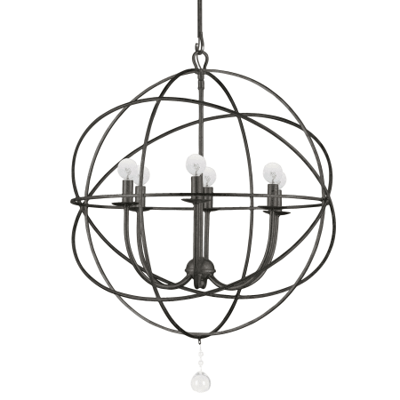 Crystorama Lighting Group 9226 Eb English Bronze Solaris 6 Light 22