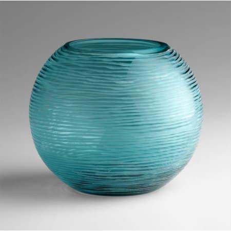 Cyan Design 04361 Aqua 675 Large Round Libra Vase