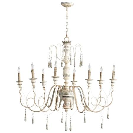 Cyan design 05714 parisian blue chantal 8 light 1 tier chandelier cyan design 05714 aloadofball Images