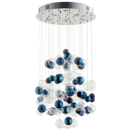 Cyan design 08856 chrome champagne circus 24 wide chandelier with cyan design 08856 aloadofball Images