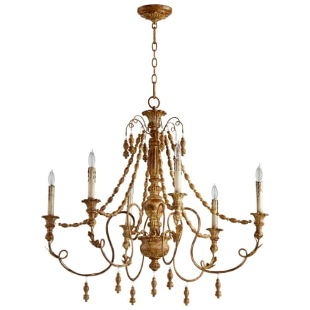Cyan design 06578 french umber lyon 6 light 1 tier candle style cyan design lyon six light chandelier aloadofball Image collections