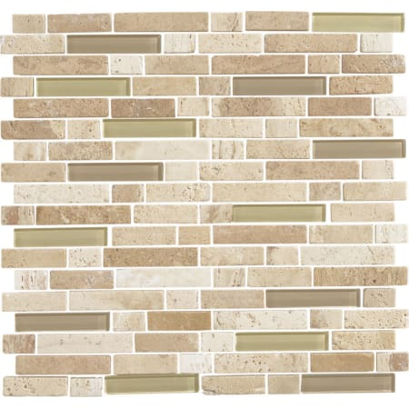 Daltile SARANDMSP Mushroom Morning Sun Blend Stone Radiance - Daltile chico