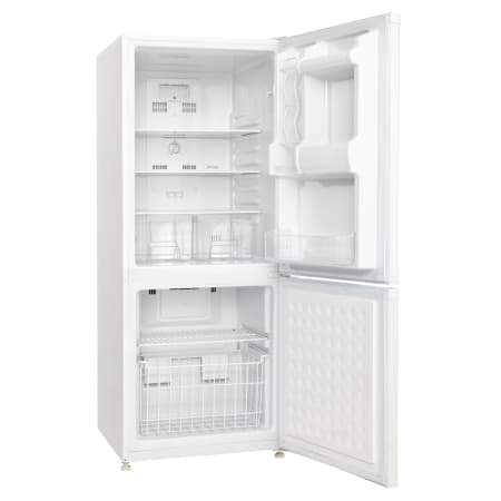 danby, energy star, 9.2 cu ft, bottom mount, refrigerator, white ...