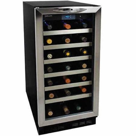 Dwc1534bls Danby Silhouette 34 Bottle Built In Wine Cooler