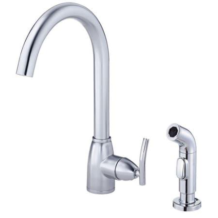 Danze D401554 Ac0ed011157 Chrome Single Handle Kitchen Faucet With