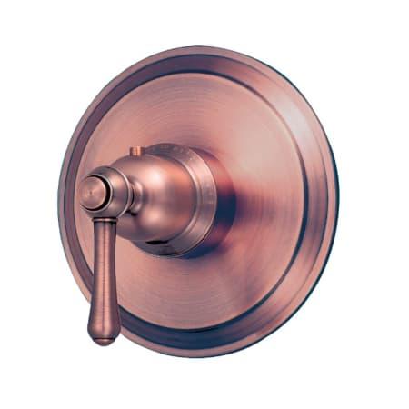 Danze D562057act Antique Copper Thermostatic Valve Trim