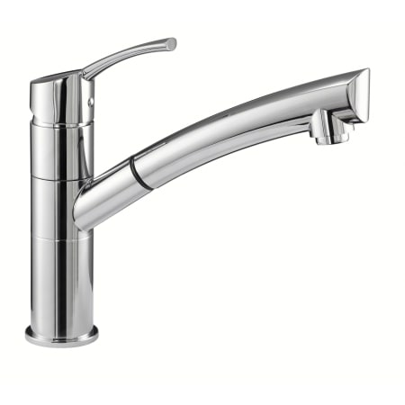 kitchen faucets danze danze dh450277 chrome pullout spray kitchen faucet from 13211