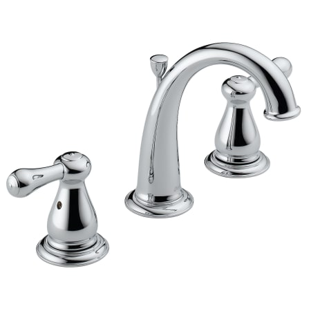 Delta 3575 Rb Venetian Bronze Leland Bathroom Faucet Widespread Double Metal Lever Handles And