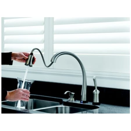 Delta 980t Sssd Dst Legacy Stainless Single Handle Kitchen