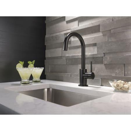 Delta 1959lf Chrome Contemporary Single Handle Bar Faucet