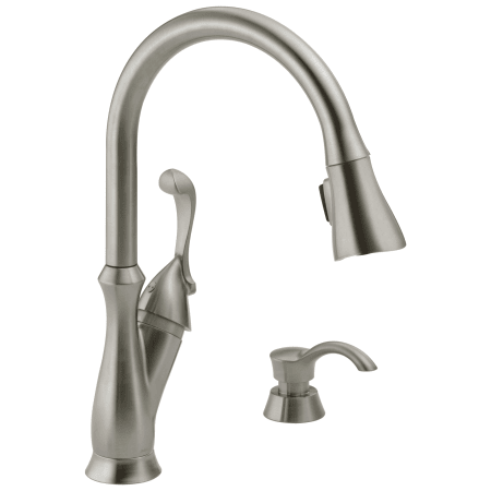 Delta 19950 Ss Sd Dst Brilliance Stainless Arabella Pull