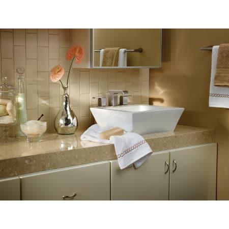 Delta 3586lf Mpu Chrome Arzo Widespread Bathroom Faucet