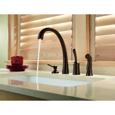 Arctic Stainless Pilar Kitchen Faucet