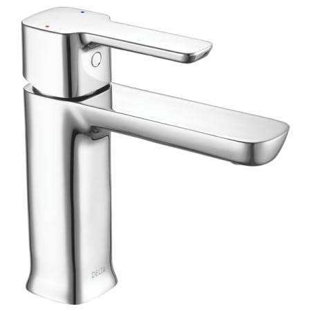 Delta 581lf Pp Chrome Modern 12 Gpm Single Hole Bathroom Sink