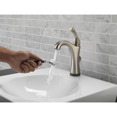 Delta 592t Dst Chrome Addison Single Hole Bathroom Faucet