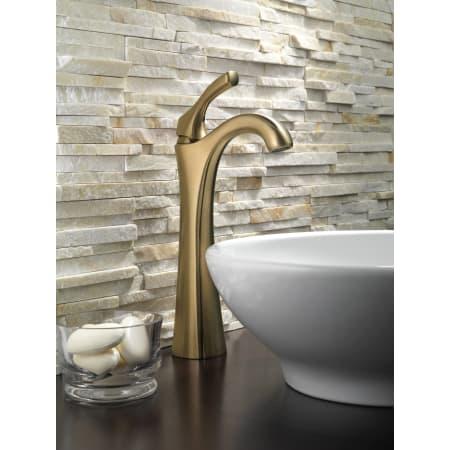 Delta 792 Rb Dst Venetian Bronze Addison Vessel Bathroom