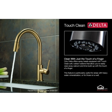 Delta 9159 Cz Dst Sd Champagne Bronze Trinsic Pull Down