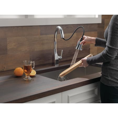 Delta 9183 Ar Dst Arctic Stainless Mateo Pull Down Kitchen