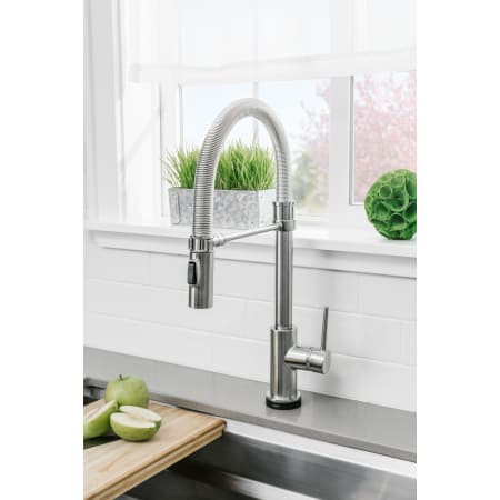 Delta 9659t Ar Dst Arctic Stainless Trinsic Pro Pre Rinse