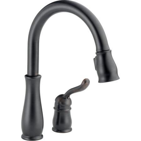 Delta 978 Rb Dst Venetian Bronze Leland Pull Down Kitchen Faucet