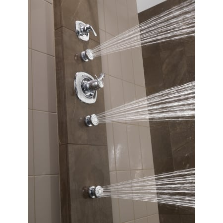 Delta Addison Monitor 17 Series Shower System Ss