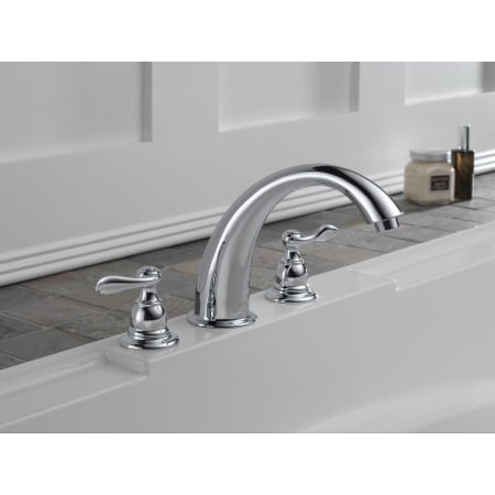 Delta Bt2796 Roman Tub Faucet Build Com