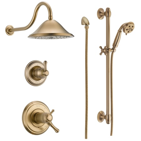 A Large Image Of The Delta Dss Cidy 17t01 Champagne Bronze