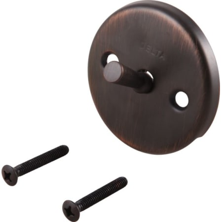 Venetian Bronze Delta-RP31555RB Overflow Plate and Screws