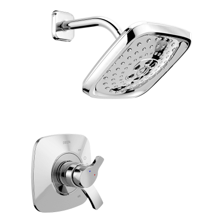 Delta T17t252 Chrome Tesla Thermostatic Shower Trim With
