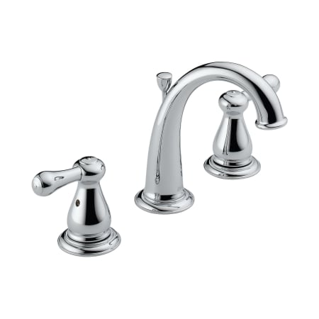 Delta 3575 Mpu Chrome Double Handle Widespread Bathroom