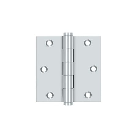 Deltana DSB3519 Solid Brass 3 1//2-Inch x 3 1//2-Inch Square Hinge