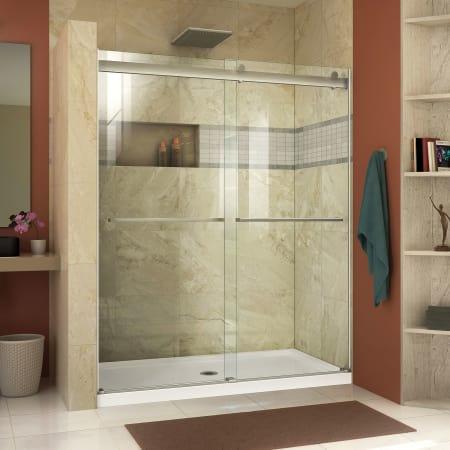canada dreamline shower door pans bases inch dlt base white slimline x threshold doors dp double amazon