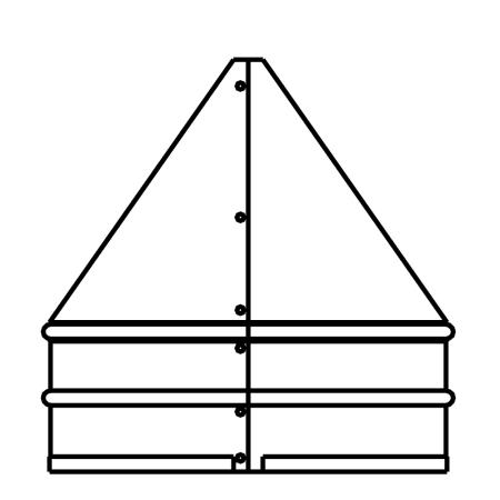 Duravent 4dfs Fp Stainless Steel 4 Quot Inner Diameter