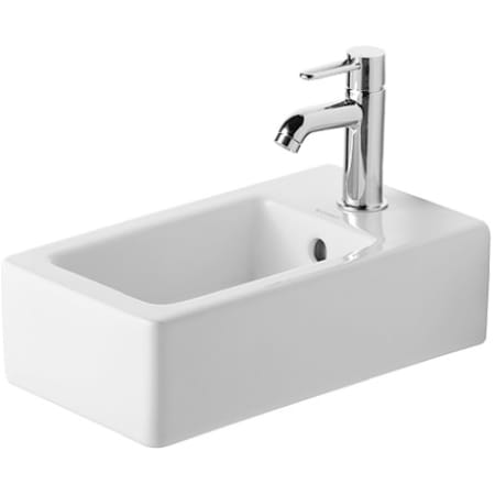 A Large Image Of The Duravit 0702250000 White